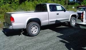 2002 Dodge Dakota Exterior