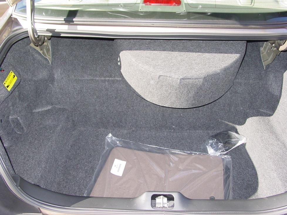 Ford Crown Victoria trunk
