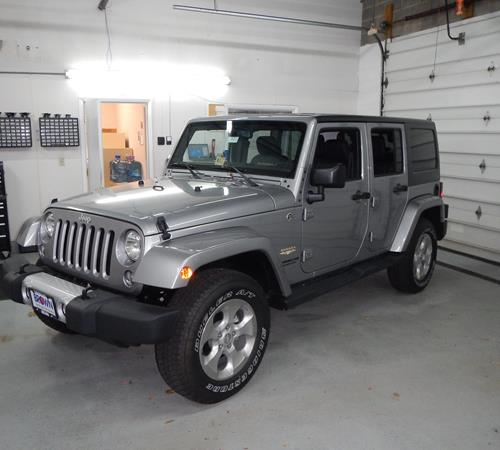 2013 Jeep Wrangler Unlimited Exterior