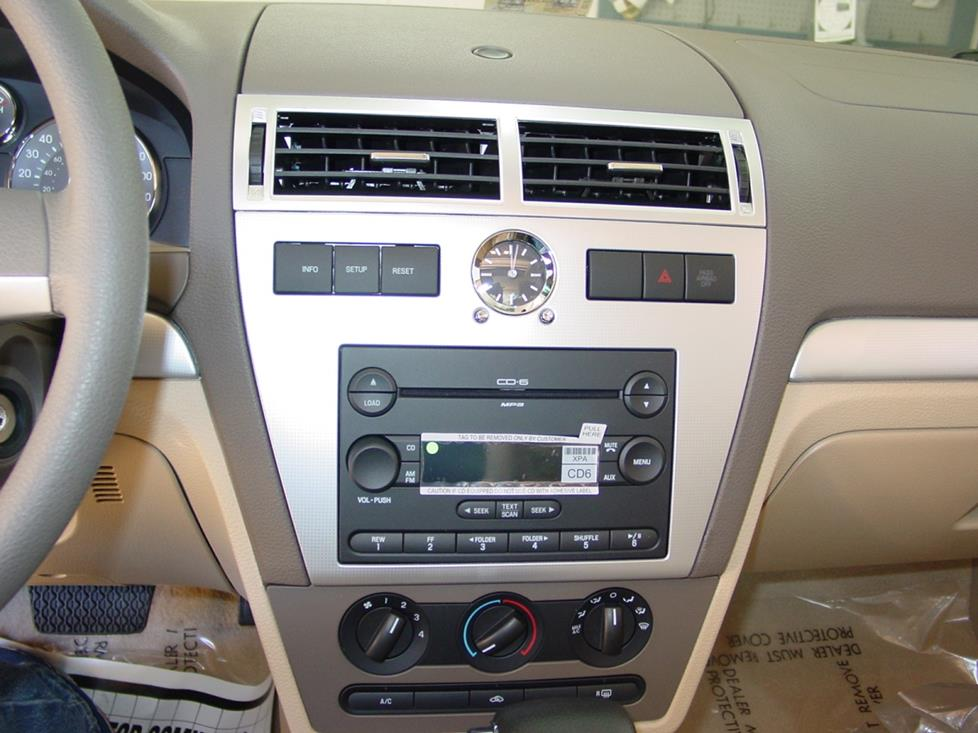 2006 2009 ford fusion and mercury milan car audio profile. Black Bedroom Furniture Sets. Home Design Ideas