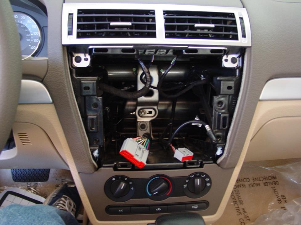 2006 2009 ford fusion and mercury milan car audio profile. Black Bedroom Furniture Sets. Home Design Ideas