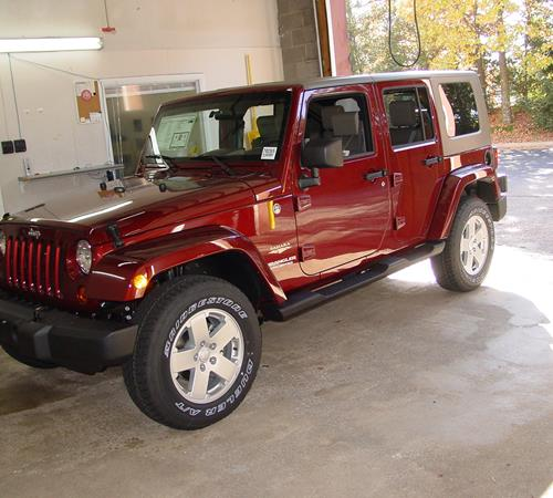 2009 Jeep Wrangler Unlimited Exterior