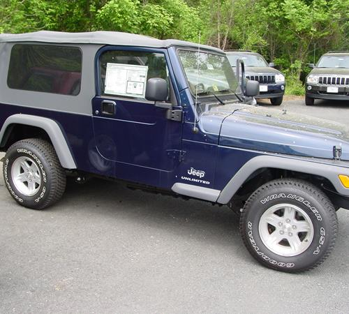 2004 Jeep Wrangler Unlimited Exterior