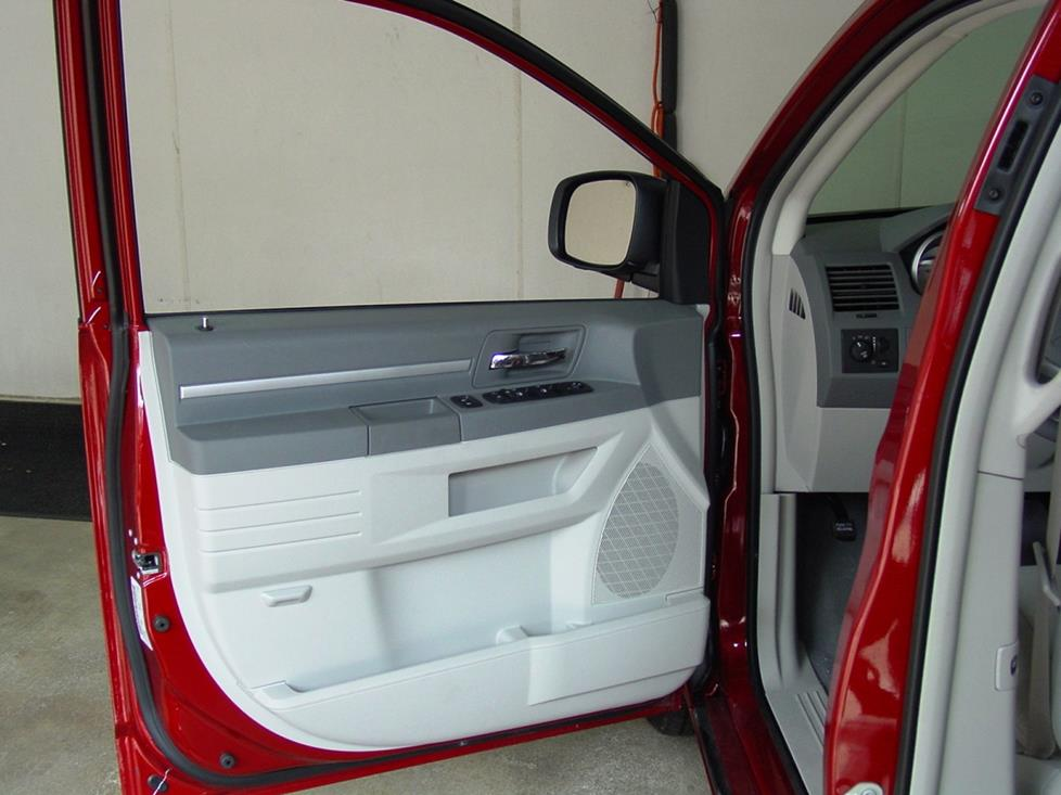 dodge Caravan front door speaker location