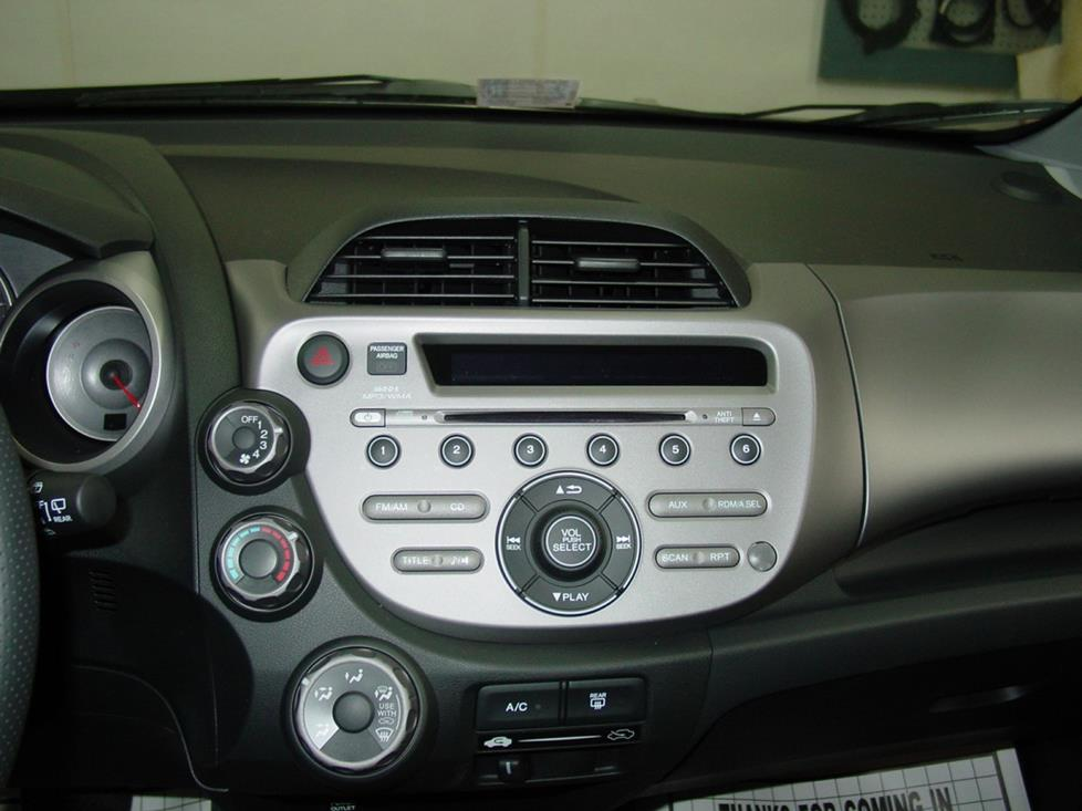 honda fit radio