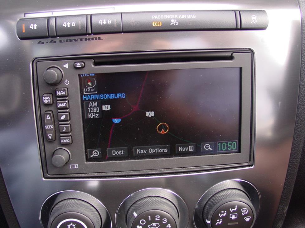 2006-2010 Hummer H3 Car Audio Profile on