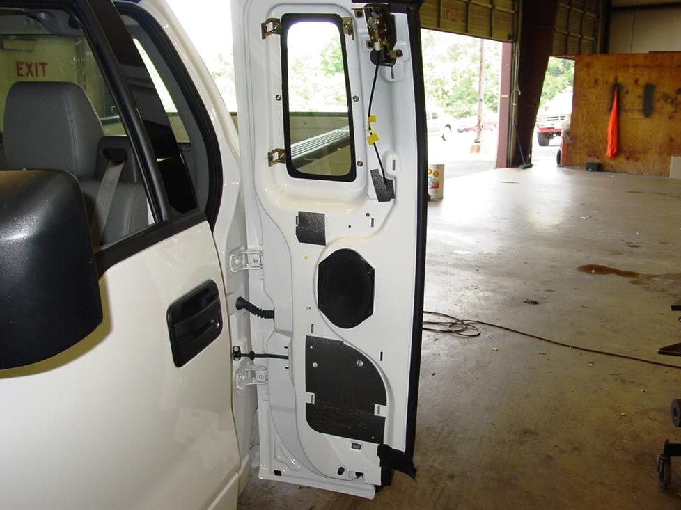 Ford F-150 rear door panel