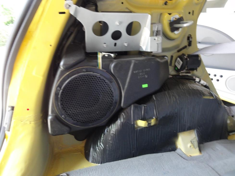 pt cruiser factory subwoofer