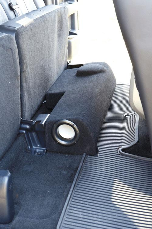 JL Stealthbox for 2013 Ford F-150