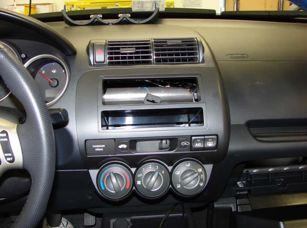 honda fit radio kit