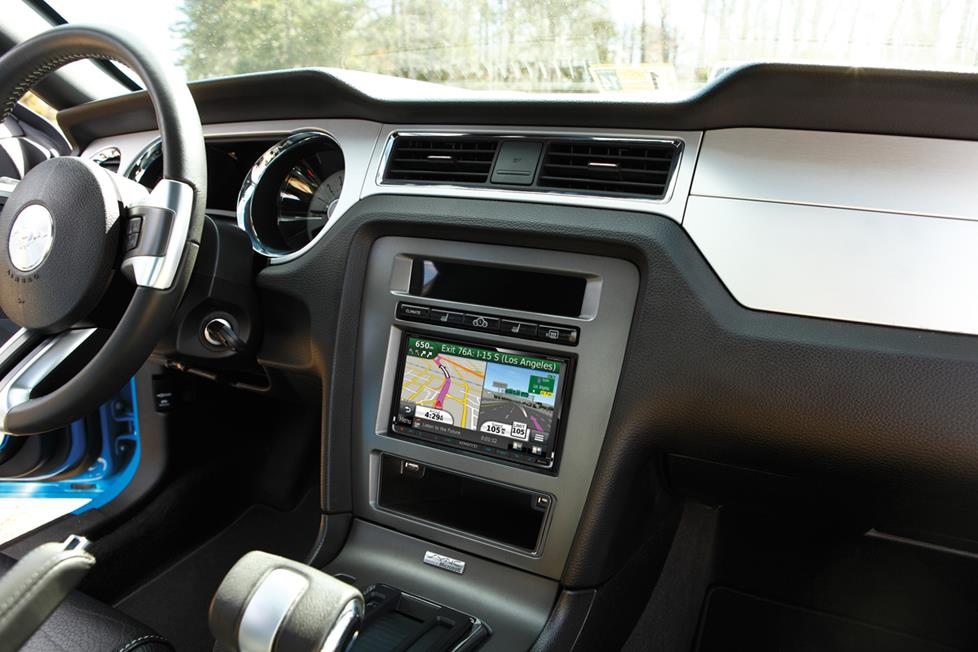 Kenwood DNX890HD in a Ford Mustang