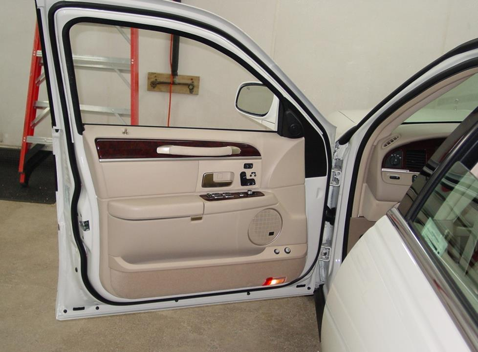 Lincoln Town Car front door