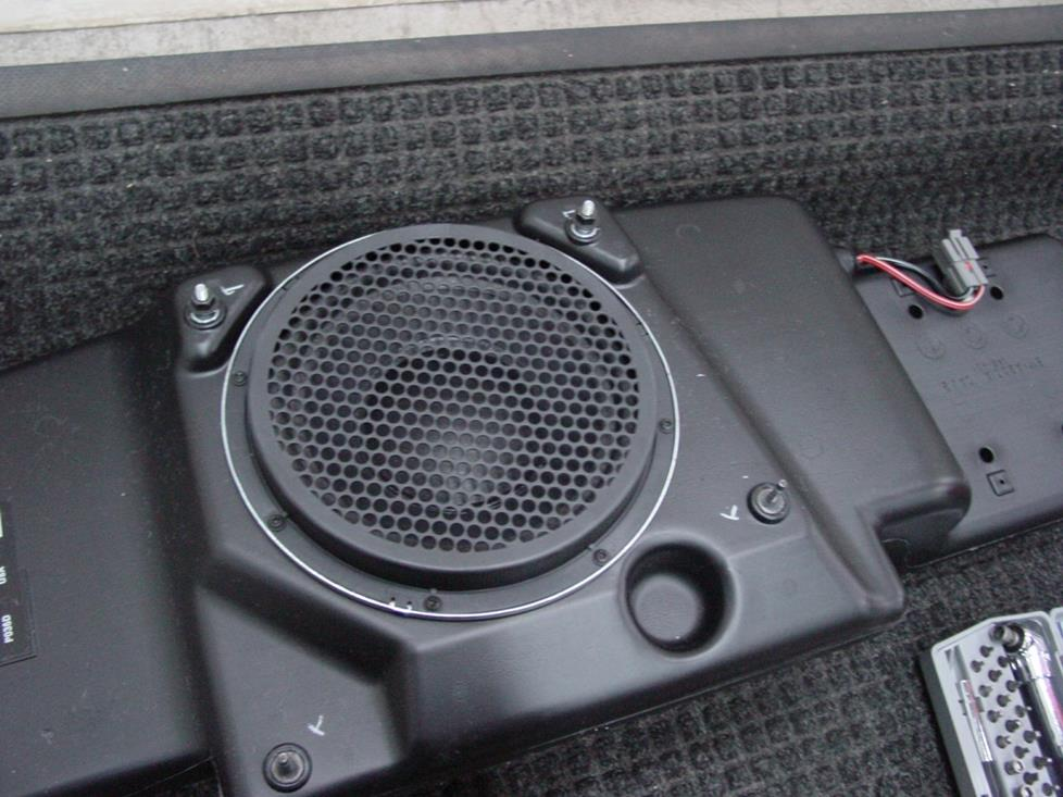 Lincoln Town car subwoofer