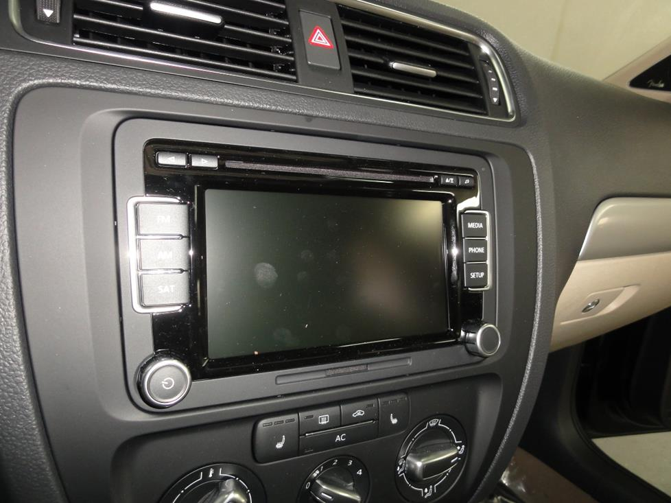 VW Jetta nav receiver