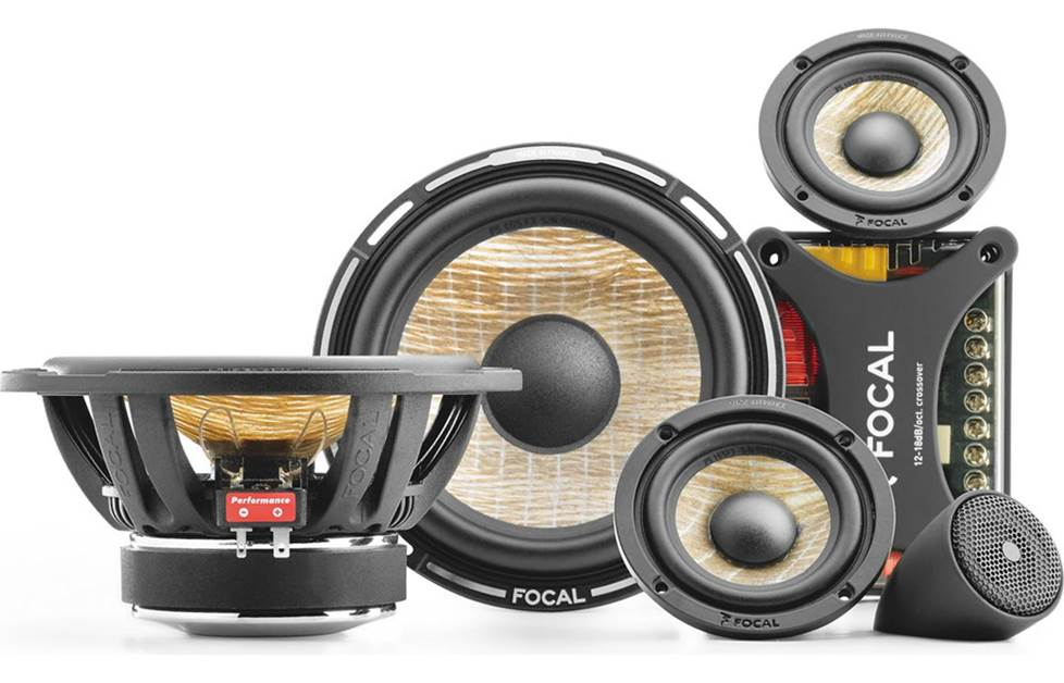 Focal Performance PS 165F3 speaker system