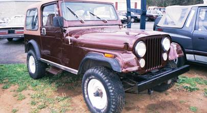 1973-1986 Jeep CJ5 and CJ7