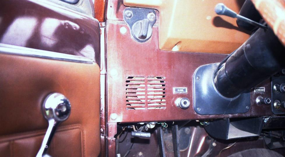 Jeep CJ dash speaker