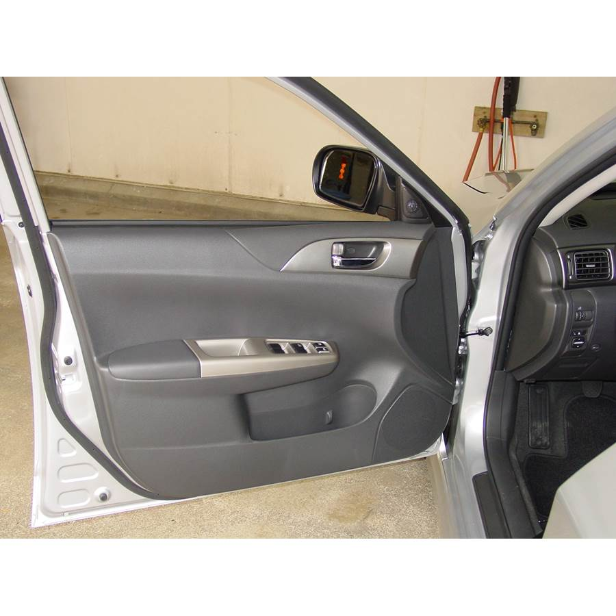 2014 Subaru Impreza WRX Front door speaker location