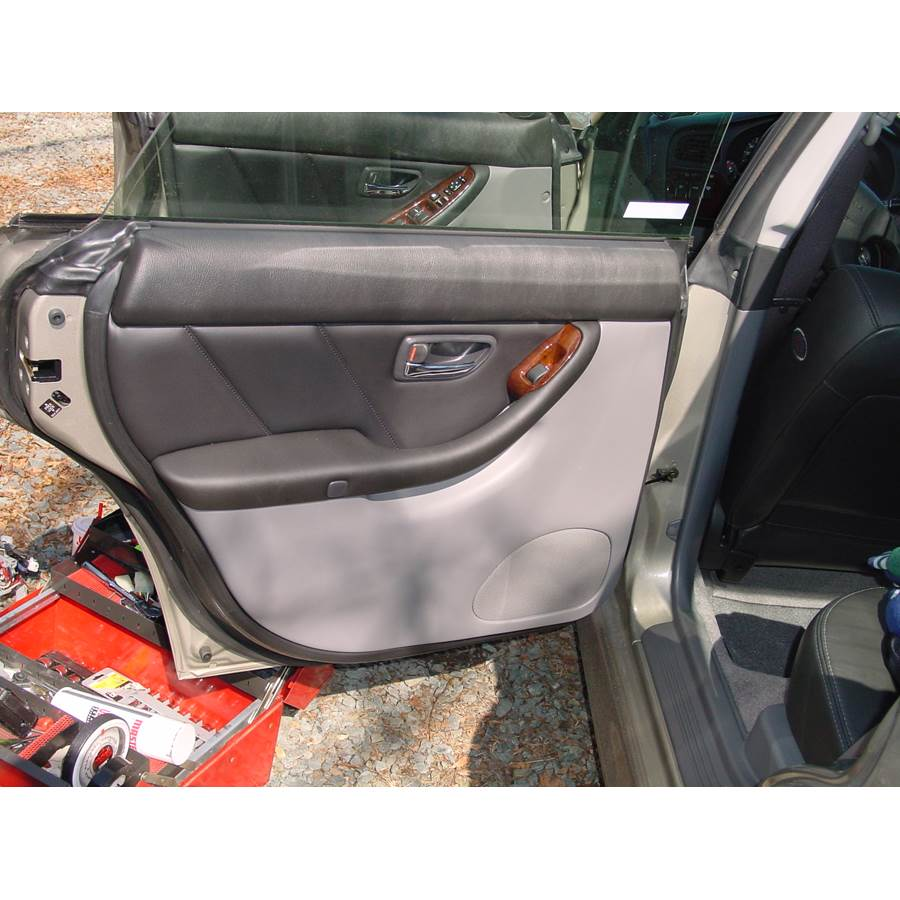 2001 Subaru Outback Rear door speaker location