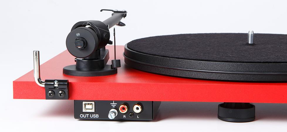 Turntable with USB