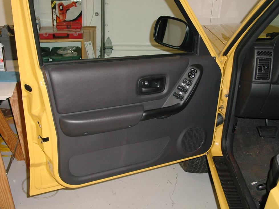 Jeep Cherokee front door