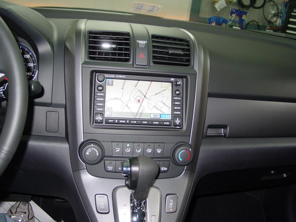 Honda CR-V navigation receiver