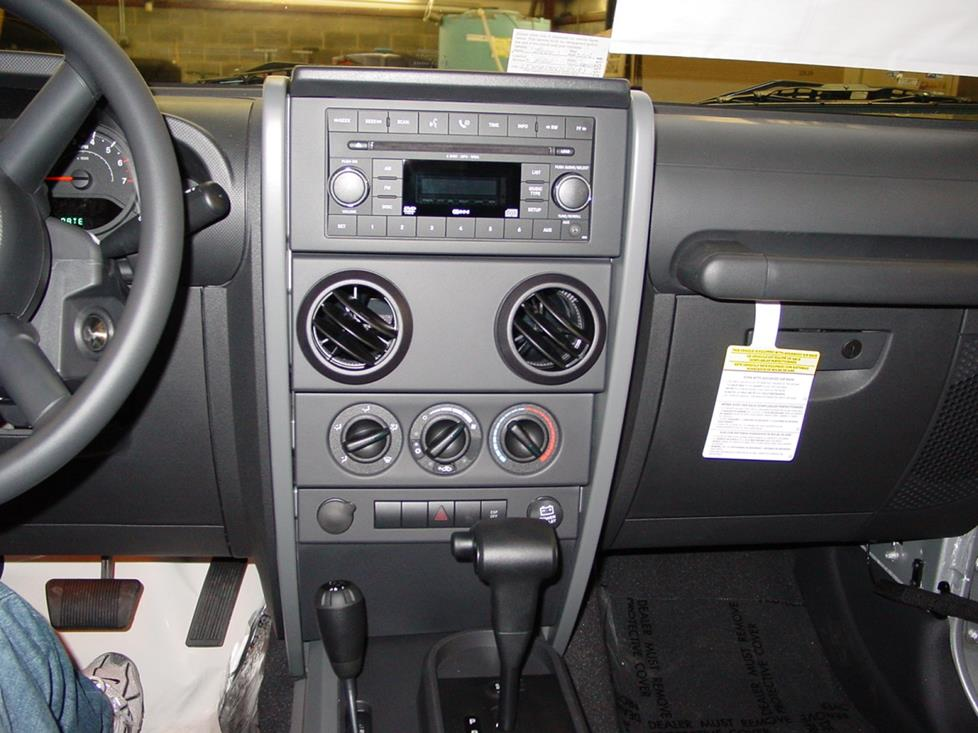 2007-2010 Jeep Wrangler Car Audio Profile on