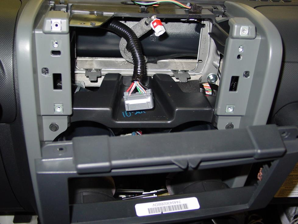Jeep Wrangler factory radio