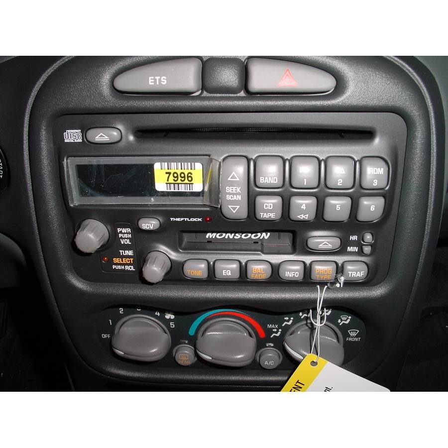 2001 Pontiac Grand Am Factory Radio