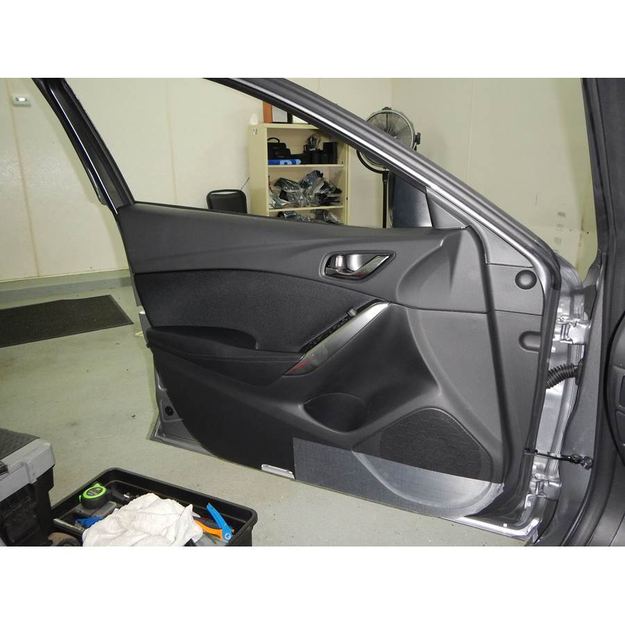 2017 Mazda 6 Front door speaker location