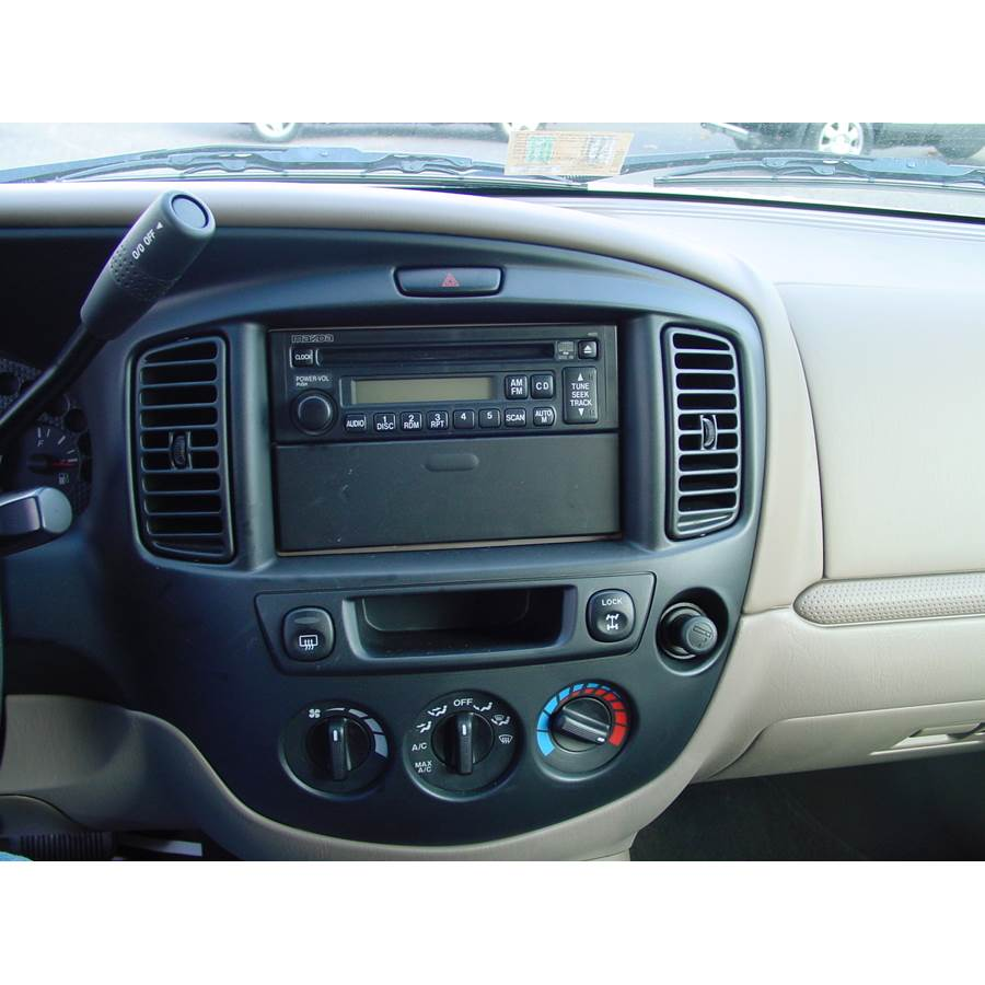 2003 Mazda Tribute Factory Radio