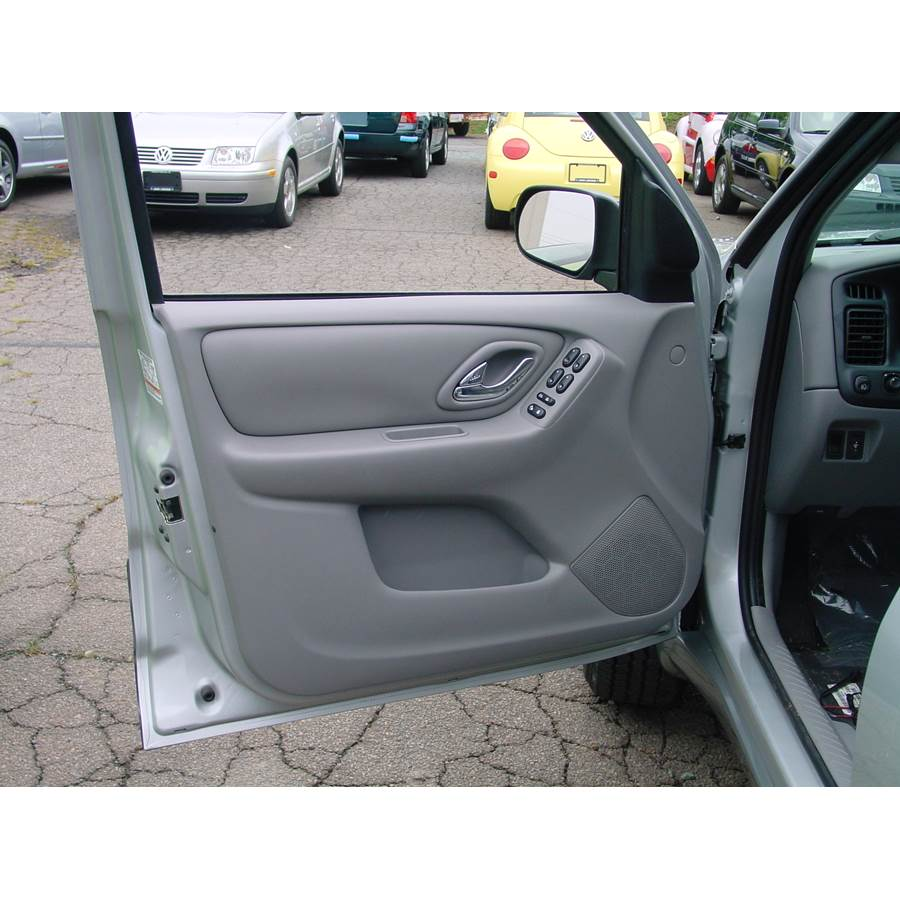 2003 Mazda Tribute Front door speaker location