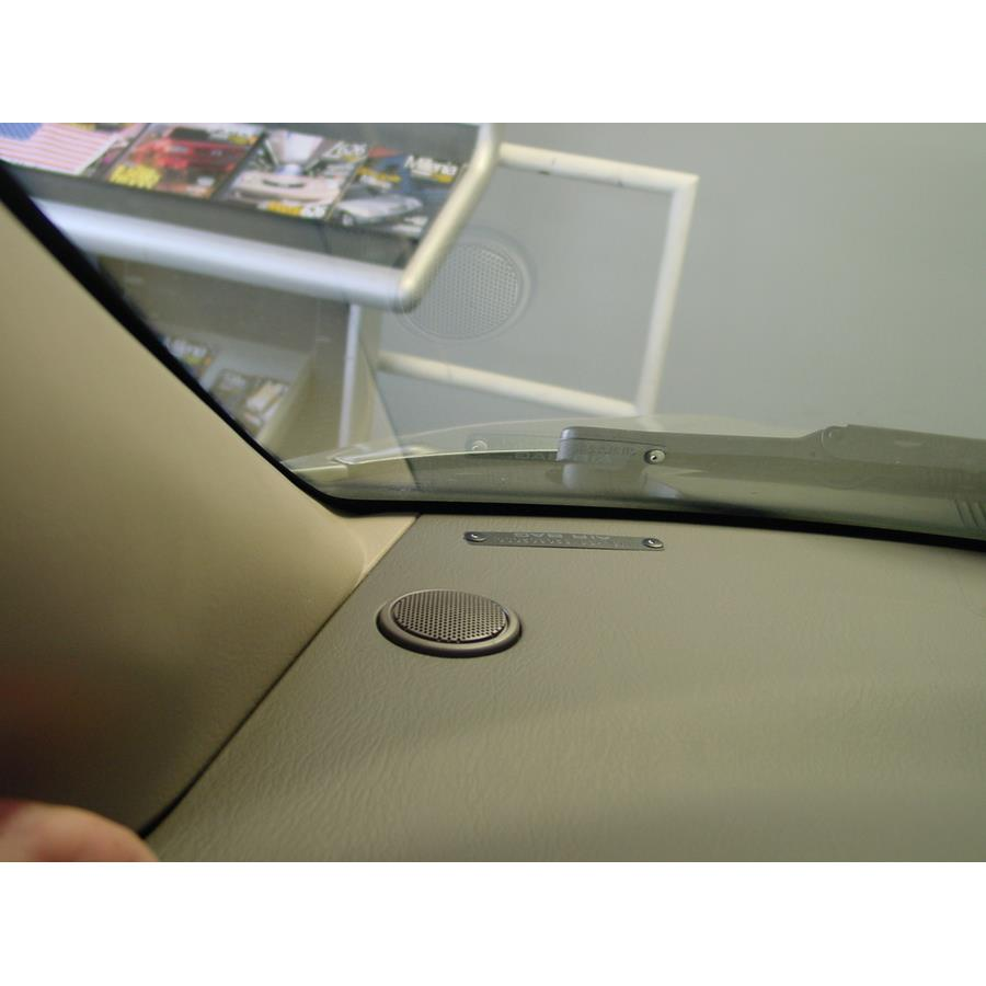 2006 Mazda MPV Dash speaker location