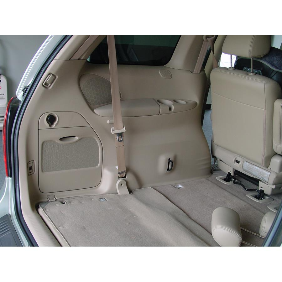 2006 Mazda MPV Far-rear side speaker location