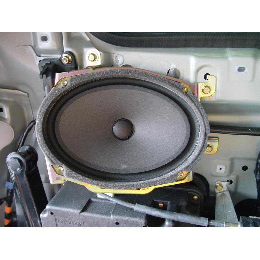 2006 Mazda MPV Far-rear side speaker