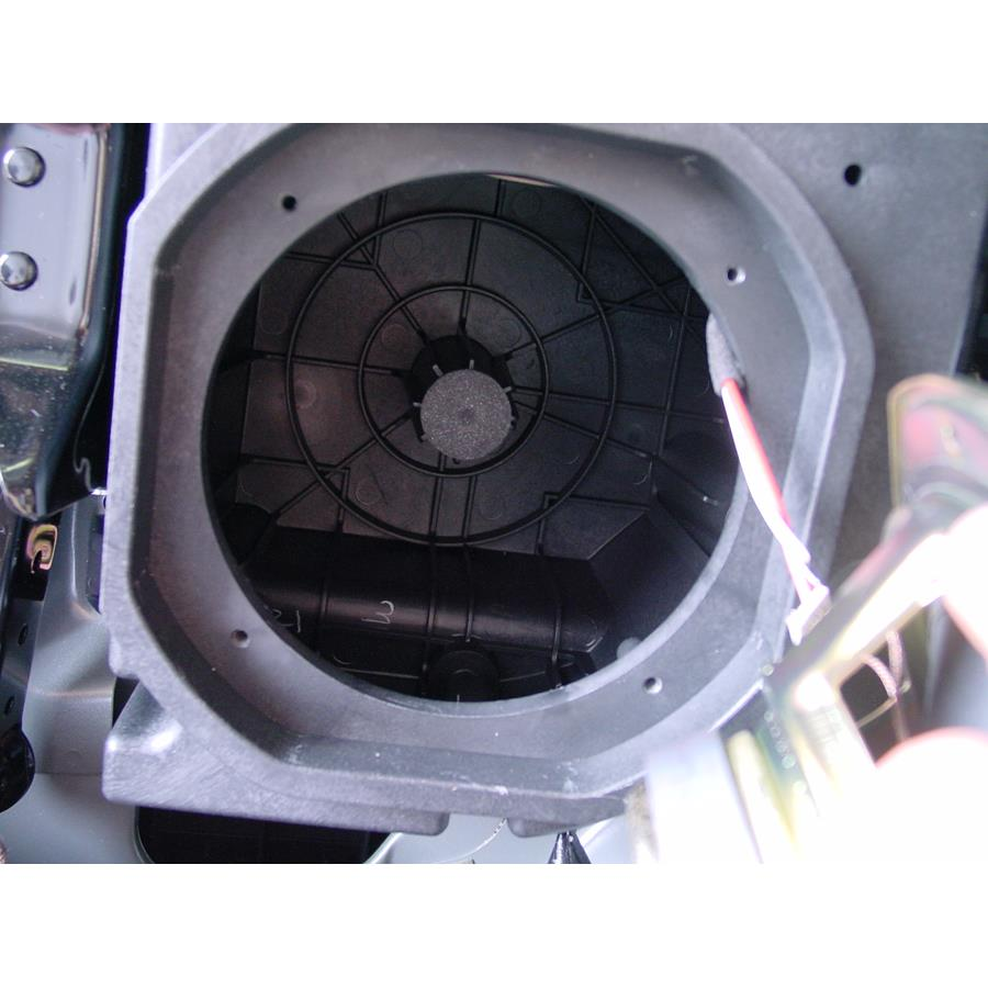 2006 Mazda MPV Factory subwoofer removed