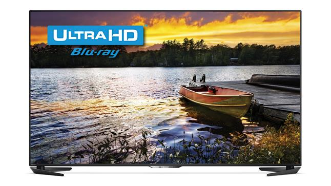 Ultra HD Blu-ray screen