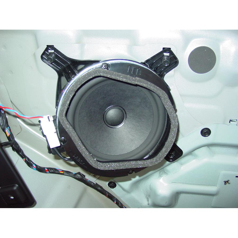 2010 Hyundai Genesis Rear side panel speaker