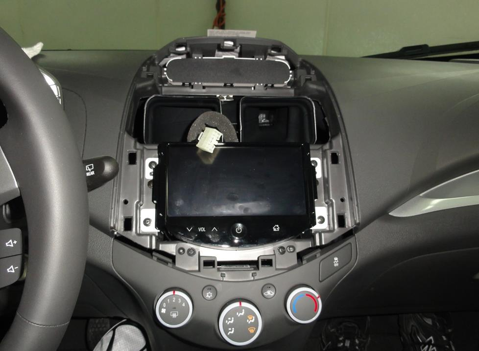chevy spark radio cavity