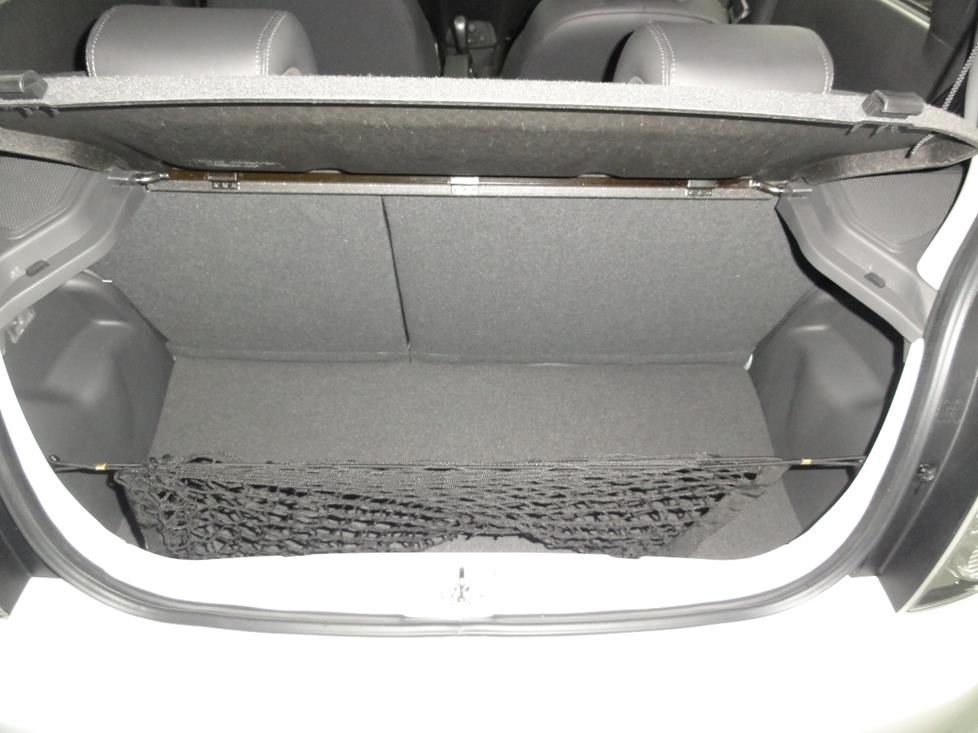 chevy spark cargo area