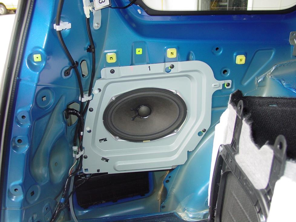 subaru forester factory subwoofer