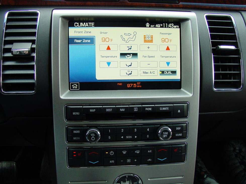 Ford Flex nav radio