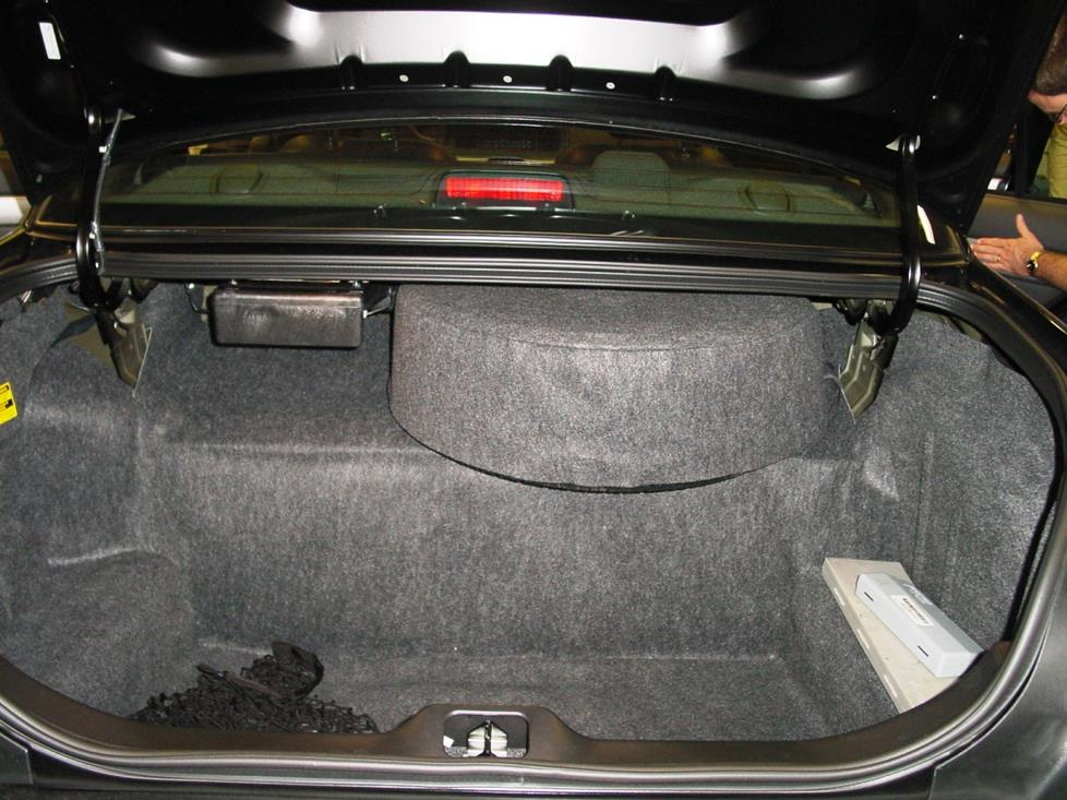 mercury marauder trunk