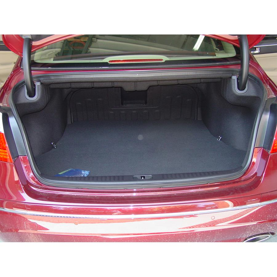 2010 Hyundai Genesis Factory amplifier location