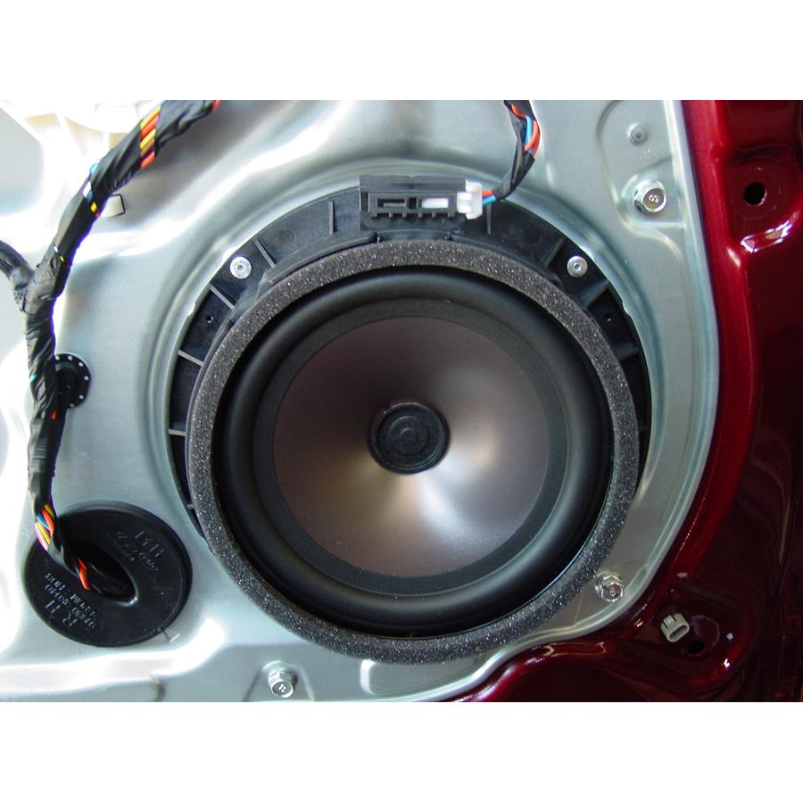 2010 Hyundai Genesis Rear door woofer