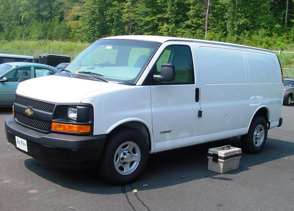 Chevrolet Express GMC Savana van