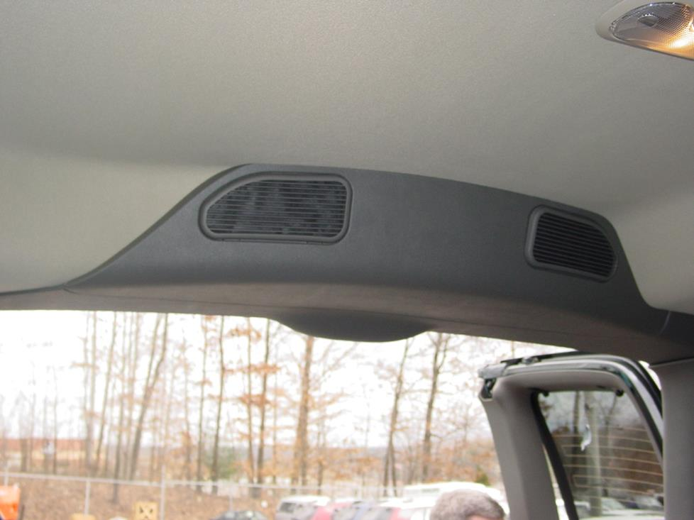 chevy express gmc savana rear deck speakers