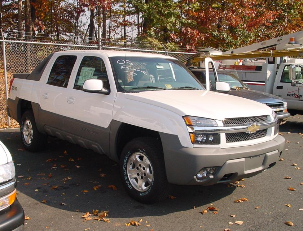 2002 chevrolet avalanche car audio profile