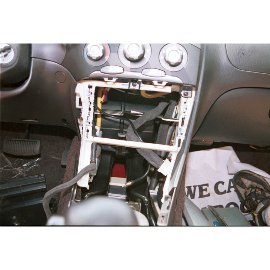 2000 Hyundai Tiburon Factory radio removed