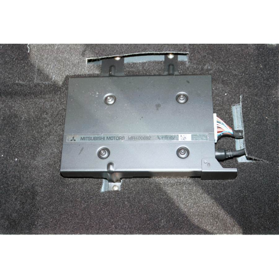 2001 Mitsubishi Eclipse Factory amplifier